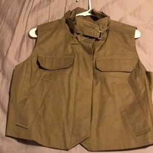 Jcrew cropped Utility vest
